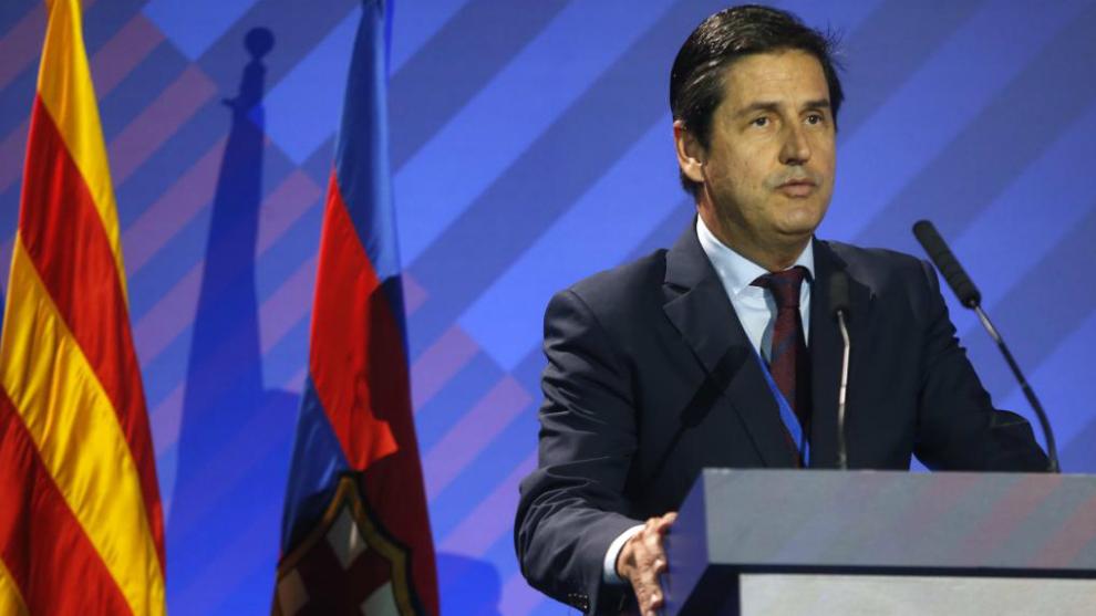 Enrique Tombas interviene en la Asamblea General Ordinaria del...