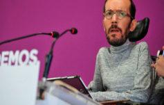 El Ayuntamiento de Madrid expedienta a Pablo Echenique por hacer obras...