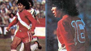 El día del debut de Diego Armando Maradona en Primera.