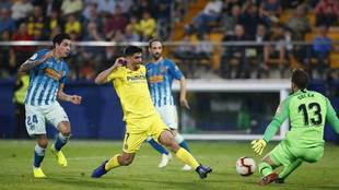 Jan Oblak secó a los delanteros del Villarreal.