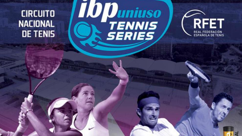 Cartel del Masters IBP Uniuso Tennis Series 2018