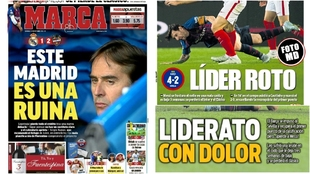 Sunday's headlines: Real Madrid in ruins and Barcelona's...