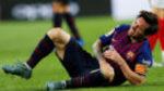 Messi, tres semanas de baja, se pierde el Clásico