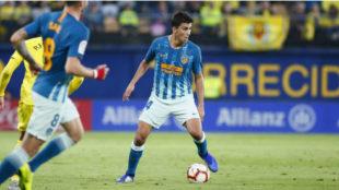 Rodrigo, ante el Villarreal.