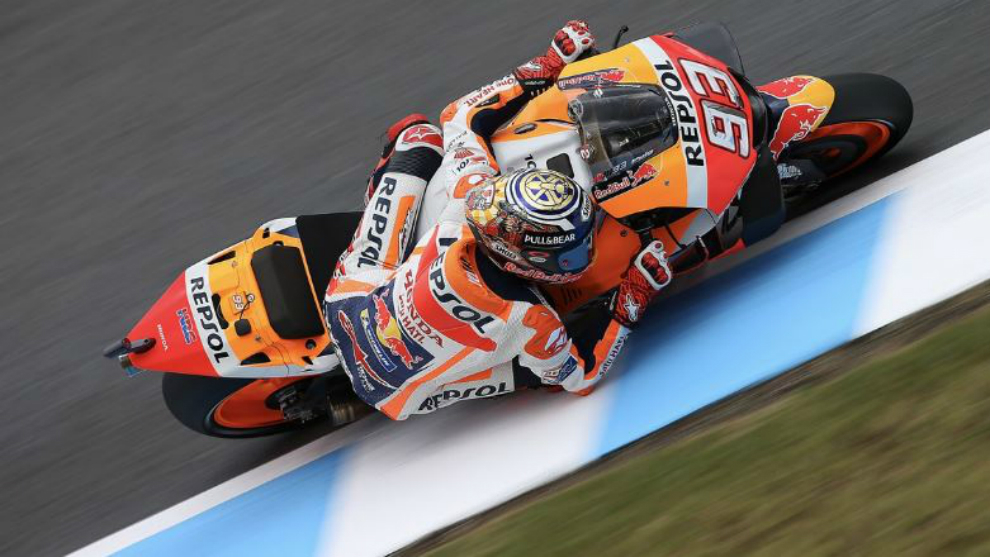 MotoGP Motegi: I wanted to win at the first match point - Marquez