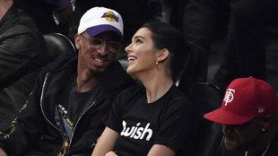 Kendall Jenner no quiso perderse el estreno de LeBron en el Staples