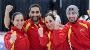 El equipo español, tras clasificarse para la final