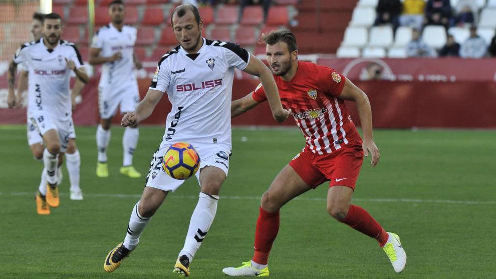 Imagen del Albacete-Almería de la temporada pasada.