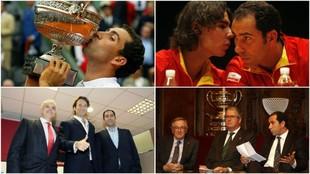 Costa, en sus diversas etapas como profesional