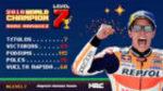 Márquez alcanza el nivel 7: ¡¡¡campeón del mundo!!!