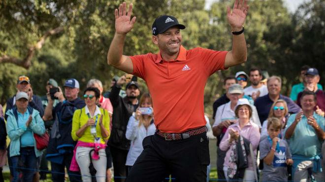 Sergio García tras ganar el Andalucía Valderrama Masters.