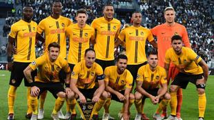 Alineación del Young Boys que se enfrentó a la Juventus en Champions