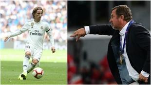 Luka Modric and Pavel Vrba