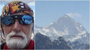 Imagen Francisco Candela  del alpinista fallecido en el Himalaya