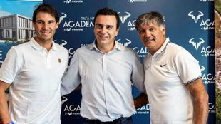 Nadal, Abel Matutes y Toni Nadal