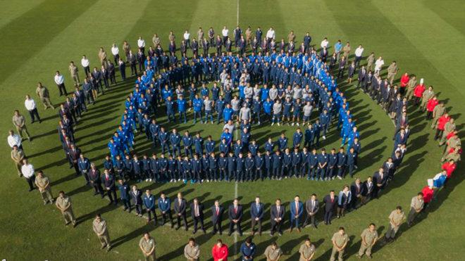 Fotografía oficial de la Máquina de Cruz Azul.