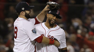 Núñez coronó una gran noche de Boston