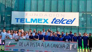 'De la Pista a la Cancha' terminó 5-1 a favor del equipo...