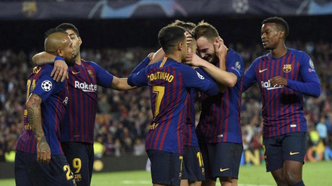 Barcelona joy.