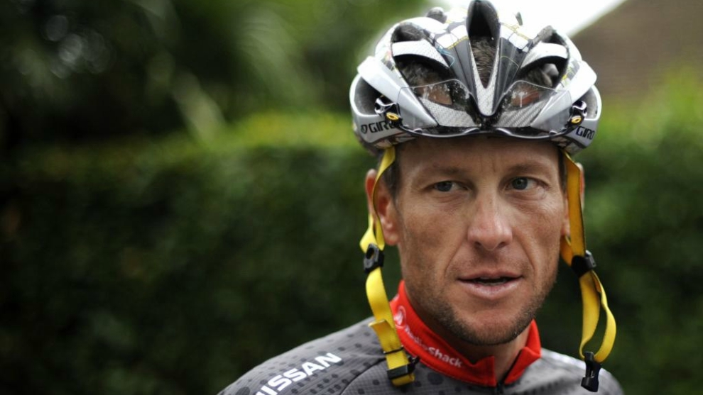 Lance Armstrong, en su última participación en el Tour de Francia.
