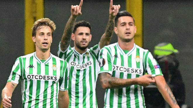Betis liquida a domicilio al Milan sin Andrés Guardado