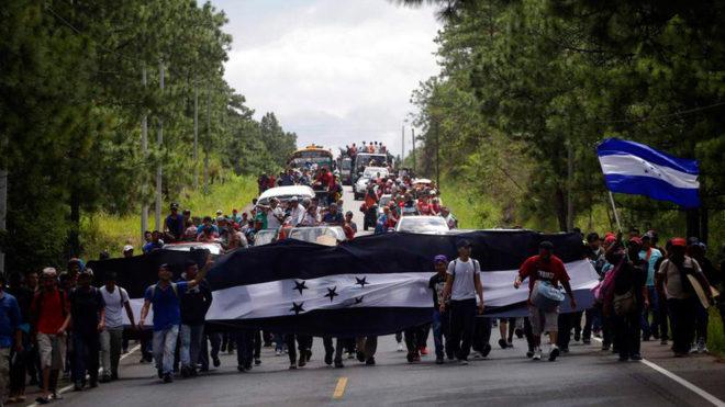 Los migrantes centroamericanos buscan oportunidades.