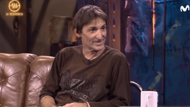 Albert Pla durante la entrevista con David Broncano