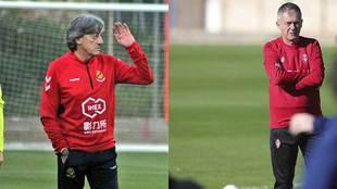 Enrique Martín y Lucas Alcaraz debutarán esta jornada al frente de...