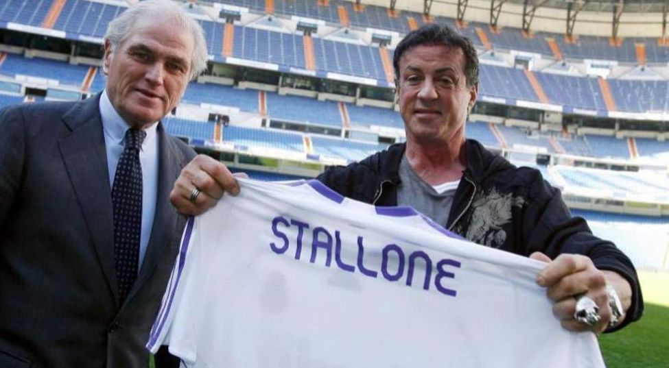 Image result for stallone real madrid