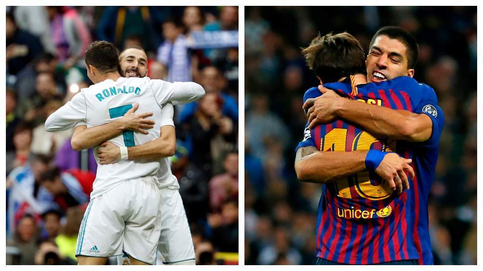 LaLiga Santander: Suarez and Benzema have become the focus