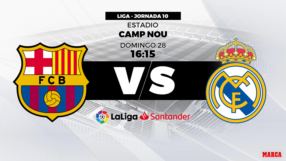 4e30a5752cbb7 FC Barcelona vs Real Madrid  Barcelona playing for the lead