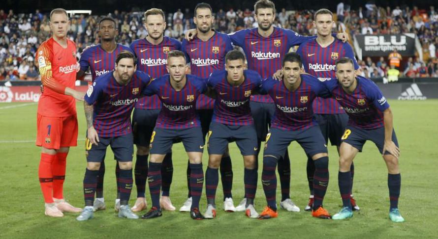 FC Barcelona - Real Madrid  Alineación oficial del Barça en el ... 3925c0c5918d4