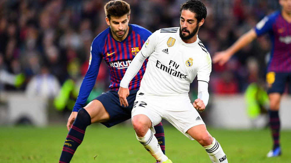 Isco and Pique.