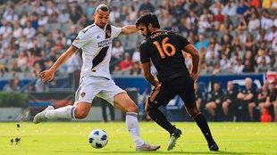 Zlatan no se hizo presente en el marcador.