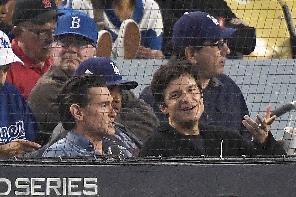 Image result for jason bateman billy crudup world series game 5