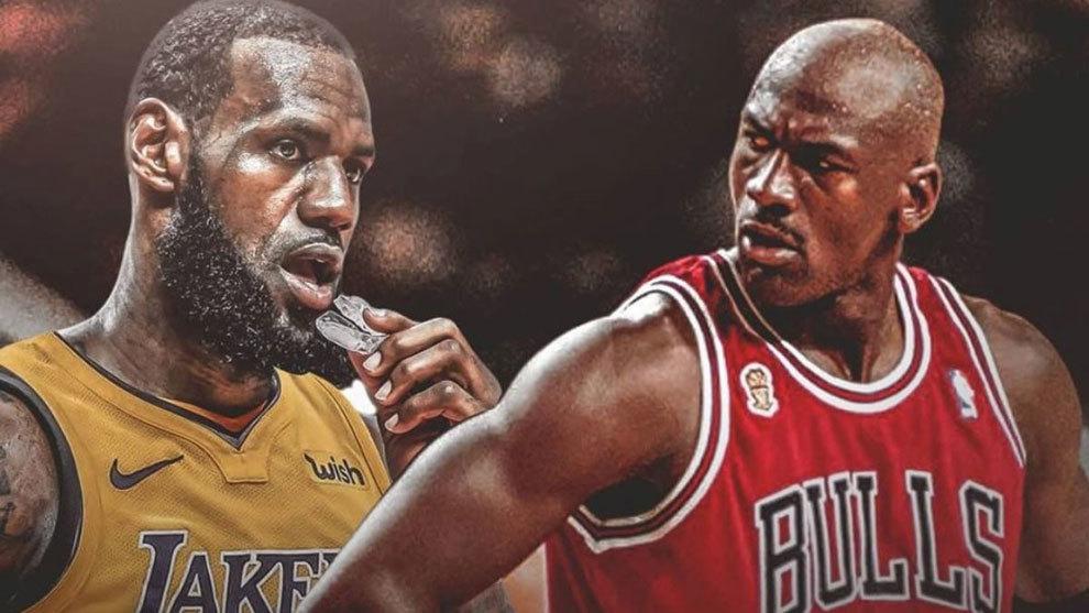 rodar Camión golpeado Indígena  NBA: Michael Jordan reta a un 1x1 para ver quién es el mejor de siempre y  LeBron responde | Marca.com