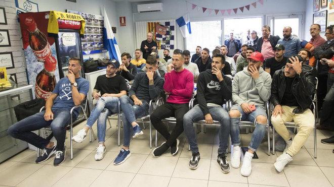 Los jugadores del Ebro, antes del sorteo de Copa del Rey, juegan hoy...