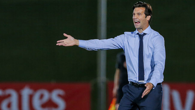 Solari: Two weeks until he stops being provisional coach