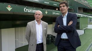 Lorenzo Serra Ferrer y Ángel Haro.
