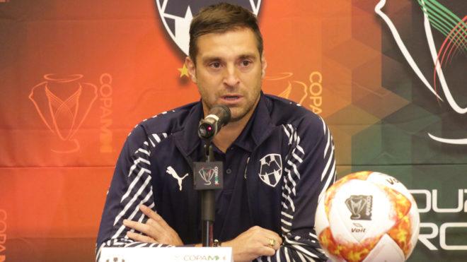 Diego Alonso, listo para enfrentar la final de Copa MX.