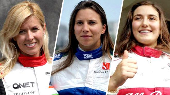 Tres mujeres que forman parte de la historia de la F1