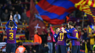 Barcelona silence all the doubts about the team