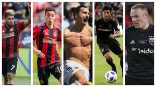 Los cinco nominados a MVP de la temporada en la MLS