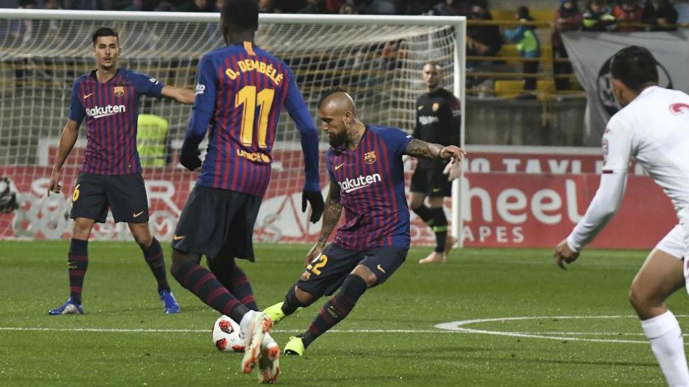 Arturo Vidal on the ball.