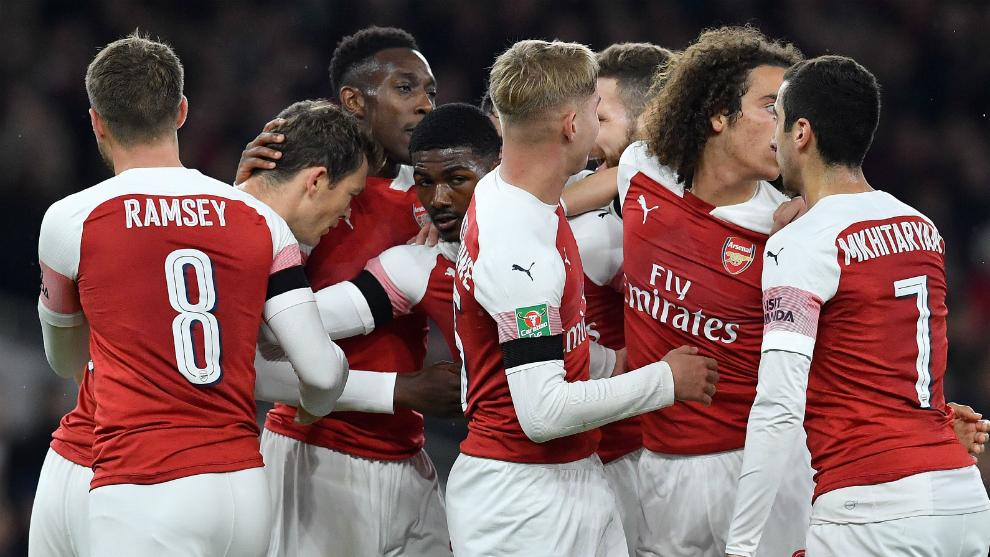 Premier League  Derbi de Londres entre Arsenal y Tottenham en los ... a8be1bca78f