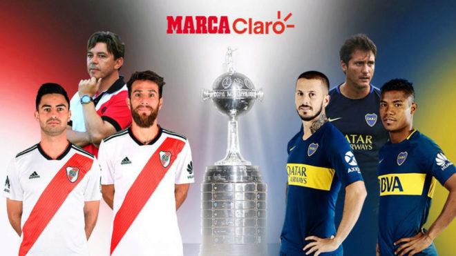 River y Boca jugarán la final de la Copa Libertadores.