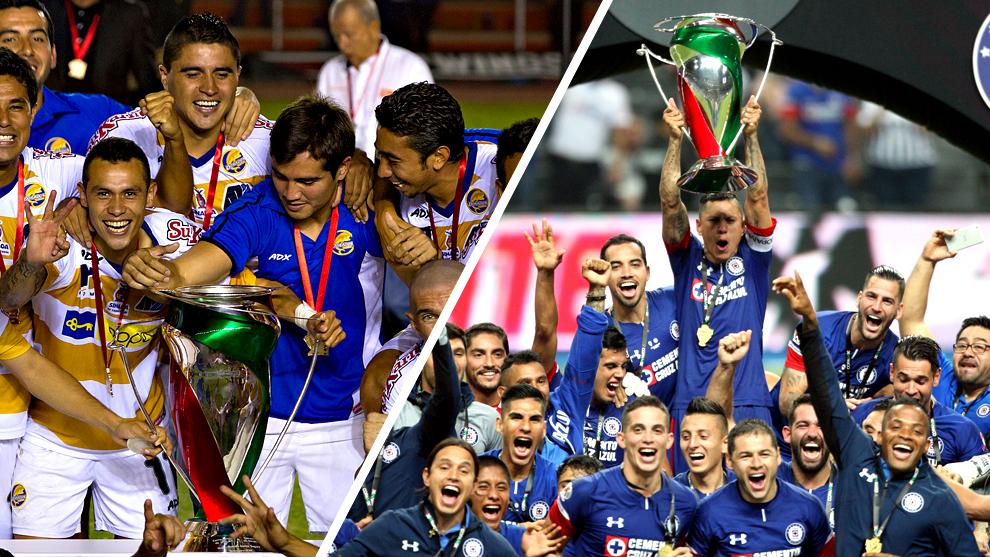 Dorados y Cruz Azul, el primero y último campeón de Copa