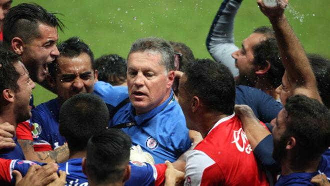 Peláez consiguió su primer título con La Máquina