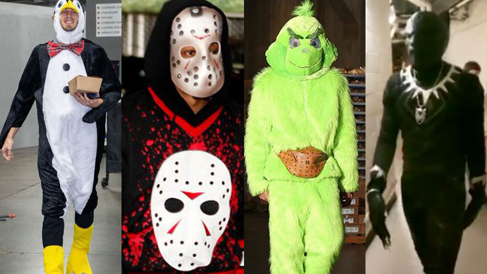 NBA The best Halloween costumes of the NBA stars , The star