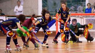 Una jugada del Portugal-España que decidió el título del Europeo...